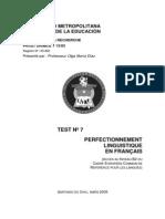 Delf b2 Test 7