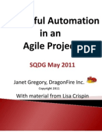 Successful Automation in an Agile Project