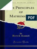 The Principles of Mathematics 1000097701