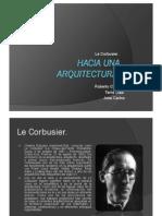 Hacia Una Arquitectura