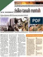 58 Lokasi Risiko Tanah Runtuh