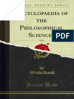 Encyclopaedia of the Philosophical Sciences v1 1000019154