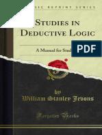Studies in Deductive Logic 1000066177