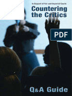 Countering the Judicial_critics 2006