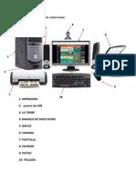 Identifique Las Partes Del Computador