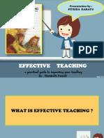 REPORT BOOK_effective Teaching