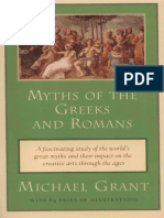 Penguin Publishing Myths of the Greeks and Romans (1995)