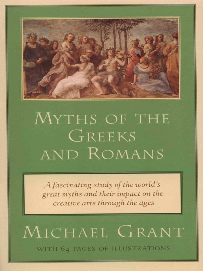 Penguin Publishing Myths Of The Greeks And Romans 1995 Hector