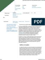 Modelos y validación en ASP