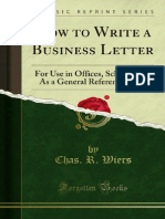 How to Write a Business Letter for Use in Offices Schools