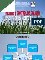 CALIDAD Y SANIDAD EN PROCESAMIENTO DEL MAÍZ (UPTEP-IVAN)