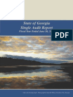 State of Georgia Single Audit Report 2013