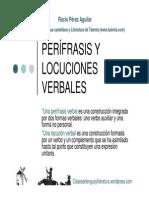 Perc3adfrasis y Locuciones Verbales