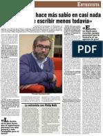 Amm, Entrevista La Noche de Los Tiempos