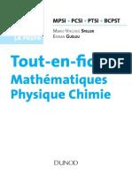 Maths Physique Chimie résumé MPSI