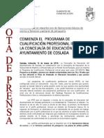 140312 NP- Inicio Cursos PCPI