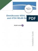 Alcatel OAW-4704-64 _ Installation Guide