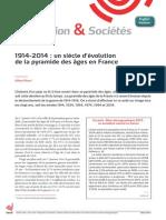 """Rapport de l'Ined """"1914-2014"""