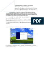 Manual de Configuracion de Windows Server 2003