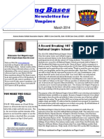 Touching Bases Vol I Issue 2 March 2014 Rev 5 (Final Revision)