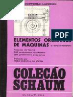 LIVRO ELEMENTOS ORGÂNICOS DE MÁQUINAS