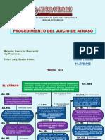 ESQUEMA EL PROCEDIMIENTO DE ATRASO.ppt