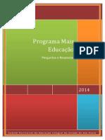 Programa Mais Educação - Guia Orientador 2014