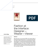 Fashion at the Interface