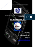 wireless MAX technology with its applications and technologies