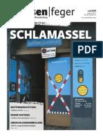 Schlamassel – strassenfeger Ausgabe 02 2014