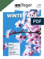 WINTER – strassenfeger Ausgabe 03 2014