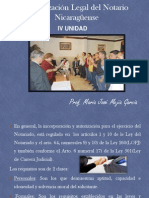Organizaci+¦n Legal del Notario Nicarag++ense