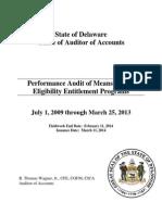Entitlements Final Report