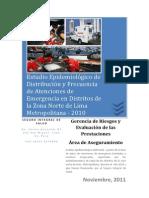 Estudio Epidemiologico de Distribucion y Frecuencia de Atenc Noviembre2011