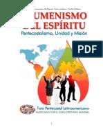 Ecumenismo Del Espiritu
