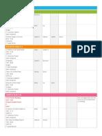 Student Schedule 03.17- 03.30