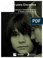 70002985 Manual Para Docentes Conhecer e Qualificar as Respostas Na Comunidade Criancas e Jovens Expostos a Violencia Domestica[1]