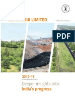 coal india report