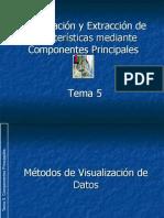 Visualización y Extracción de Características mediante Componentes Principales