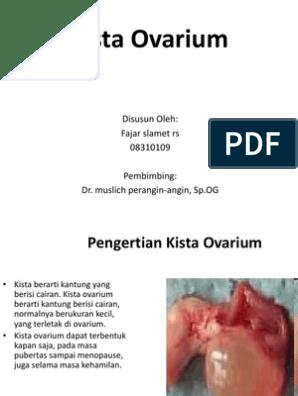 Kista Ovarium Ppt