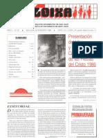 LLOIXA. Número 55, julio/agosto. Juliol/agost, 1986. Butlletí informatiu de Sant Joan. Boletín informativo de Sant Joan. Autor