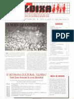 LLOIXA. Número 56, septiembre/setembre, 1986. Butlletí informatiu de Sant Joan. Boletín informativo de Sant Joan. Autor