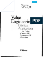 Value Engineering in Construction Idustry Dell'Isola