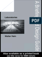 A Briefing and Design Guide, Laboratories - W. Hain