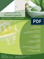 Curso de Homeopatia. Medicina UdeA