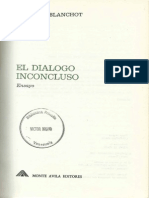 Maurice Blanchot El dialogo inconcluso.pdf