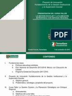 1. Curso-Taller La gestión escolar y la planeación estratégica con enfoque regional