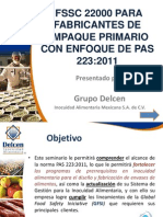 FSSC 22000 Bajo PAS 223_Marzo 5 2012 Ofc