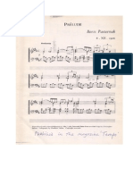 Prelude for piano (1906) by Boris Pasternak