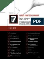Latent Print Develipment Chap 7